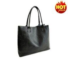 ราคา 7 Fifteen กระเป๋า กระเป๋าสะพายข้างสีดำ สำหรับผู้หญิง (สีดำ) เป็นต้นฉบับ