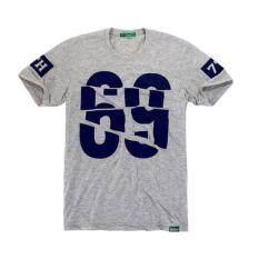 ซื้อ 7Th Street เสื้อยืดแนวสตรีท รุ่น Sixty Nine สีเทาอ่อน ใหม่ล่าสุด