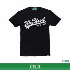 ราคา 7Th Street Graphic T Shirt เสื้อยืดแขนสั้นแนวสตรีท รุ่น Original 7Th Street สีดำ ออนไลน์