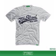 ทบทวน 7Th Street Graphic T Shirt เสื้อยืดแขนสั้นแนวสตรีท รุ่น Original 7Th Street สีเทา 7Th Street