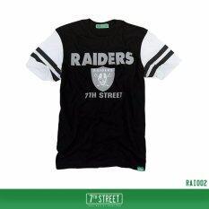ขาย 7Th Street Graphic T Shirt เสื้อยืดแขนสั้นแนวสตรีท รุ่น Raider สีดำ 7Th Street
