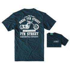ราคา ราคาถูกที่สุด 7Th Street เสื้อยืดแนวสตรีท รุ่น I Am Bike สีกรม