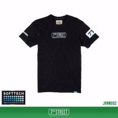 ซื้อ 7Th Street เสื้อยืดแนวสตรีท รุ่น Remixer Softtech สีดำ ขาว ถูก