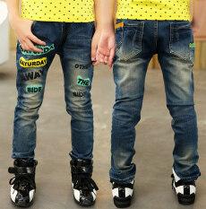 กางเกงยีนส์ฤดูใบไม้ผลิและฤดูใบไม้ร่วงวรรคกางเกงสลิม 8008 รุ่นกางเกงเดียว Unbranded Generic ถูก ใน ฮ่องกง