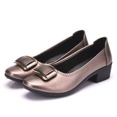 ขาย รองเท้าเกาหลีฤดูใบไม้ผลิชี้ ทอง 822 Unbranded Generic ผู้ค้าส่ง