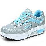 ขาย ซื้อ Gu Yu รองเท้าหนังหญิง ระบายอากาศ พื้นหนา แฟชั่น 8372 หนัง สีฟ้าและสีเทา 8372 หนัง สีฟ้าและสีเทา ฮ่องกง