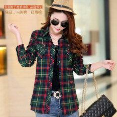 ขาย เสื้อเชิ้ตผู้หญิงผ้าฝ้ายแขนยาวลายสก๊อต 8866 20 8866 20 ถูก ใน ฮ่องกง