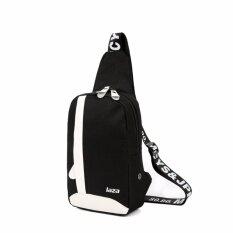 ขาย ซื้อ 999 กระเป๋า กระเป๋าสะพายข้างสำหรับผู้ชาย มีช่องใส่หูฟัง รุ่น 8090