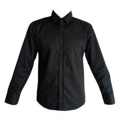 ขาย เสื้อเชิ้ตชายแขนยาวสีดำ M1000169 ออนไลน์ ใน กรุงเทพมหานคร