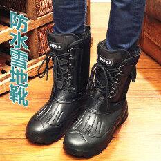 ขาย บวกกำมะหยี่ชายหนาในหลอดรองเท้าบูทรองเท้าหิมะ A วรรคลูกไม้ลายพราง ฮ่องกง