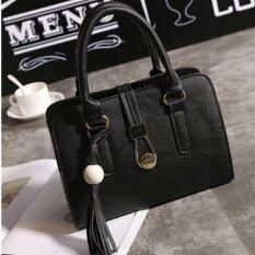 A Billion Fashion กระเป๋า กระเป๋าสะพาย กระเป๋าสะพายผู้หญิง(Black) A Billion ถูก ใน กรุงเทพมหานคร