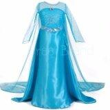 ซื้อ ชุดเจ้าหญิง ชุดราตรีเด็ก ชุดเด็ก เดรสเด็กผู้หญิง รุ่น A Skirt Princess Dress สีฟ้า ใน กรุงเทพมหานคร