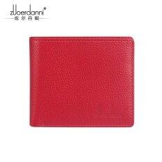 ขาย แฟชั่นชั้นแรกหนังสีชมพูบางเฉียบกระเป๋าสตางค์ขนาดเล็กนางสาวกระเป๋าสตางค์ A205A ดอกกุหลาบสีแดง ราคาถูกที่สุด