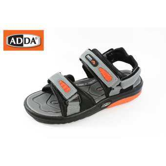 ADDA 2N36 บุรุษสตรีผู้หญิง รองเท้าแตะฤดูร้อนกีฬาชายหาดสบาย ๆ เดินรองเท้ามีสไตล์ รองเท้ารัดส้น