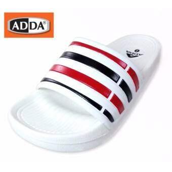 ADDA 32B07 เด็กสตรีบุรุษลายรองเท้าแตะฤดูร้อนชายหาดสบาย ๆ เดินรองเท้าที่ทันสมัยเปิดนิ้วเท้า