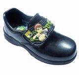 ขาย Adda รองเท้านักเรียนอนุบาลชาย ติดเทป สีดำ เบ็นเท็น Benten ออมนิทริกซ์ Adda