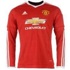 ขาย Adidas เสื้อฟุตบอล Manchester United Home Jersey 15 16 Ac1416 Red ไทย ถูก
