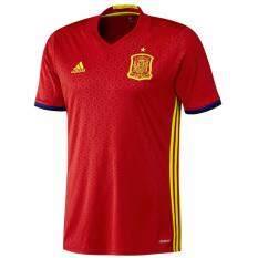 ราคา Adidas เสื้อฟุตบอล Uefa Euro 2016 Spain Home Jersey Shirt Ai4411 Red ใหม่
