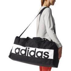 ขาย Adidas กระเป๋าสะพาย รุ่น Lin Per Tb M S99959 M Black White ถูก