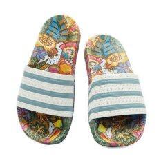 ขาย Adidas Originals Adilette Women S Sandals Slides Slippers Bb5100 ใหม่
