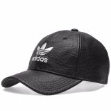 ซื้อ Adidas Originals Bk6967 Crackled Leather Logo Cap Black ใหม่ล่าสุด