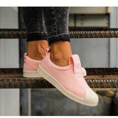ราคา Adidas รองเท้า ผ้าใบ ลำลอง ผู้หญิง อาดิดาส Super Star Slip On Bw Korea Pink รุ่นยอดนิยมใหม่ล่าสุด Adidas ออนไลน์