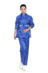 ขาย *d*lt Women Reflective Tape *d*lt Raincoat Set Travel Hiking Outdoor Rain Coat Blue Intl Unbranded Generic ผู้ค้าส่ง