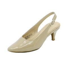 ขาย รักชินุ่มพร็อพใหม่รอบลำลองรองเท้าหนากับส้นสูงรองเท้า สีนู้ด ฮ่องกง ถูก