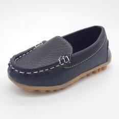 ซื้อ Alice Shoe รองเท้าเด็ก Loafer แฟชั่นเด็กผู้ชาย เด็กผู้หญิง รุ่น Lf001 Bk สีดำ ใหม่ล่าสุด