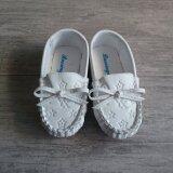 ขาย Alice Shoe รองเท้าเด็ก Loafer แฟชั่นเด็กผู้ชาย เด็กผู้หญิง รุ่น Lf002 W สีขาว Alice Shoe ใน ไทย