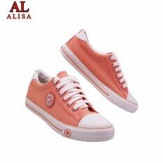 ส่วนลด Alisa Shoes รองเท้าผ้าใบแฟชั่น รุ่น 9108 Orange Alisa ใน กรุงเทพมหานคร