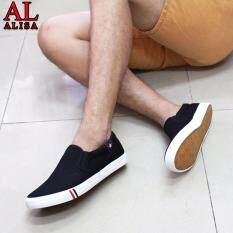 ราคา Alisa Shoes รองเท้าผ้าใบผู้ชายแฟชั่น รุ่น Lm 699 Black เป็นต้นฉบับ