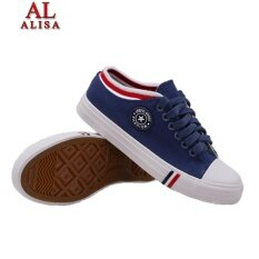 ขาย Alisa Shoes รองเท้าผ้าใบแฟชั่น รุ่น Lm555 Navy ผู้ค้าส่ง
