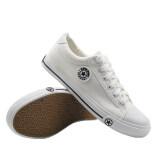 ขาย ซื้อ Alisa Shoes รองเท้าผ้าใบผู้ชาย รุ่น 9109 White ใน กรุงเทพมหานคร