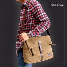 ราคา Allday Cv03 Khaki กระเป๋าสะพายข้าง ผ้าแคนวาส สีกากี กระเป๋าผู้ชาย ออนไลน์ กรุงเทพมหานคร