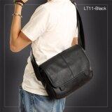 ซื้อ Allday Lt11 Black กระเป๋าสะพายข้าง หนัง Pu สีดำ กระเป๋าผู้ชาย ใหม่