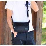ขาย Allday Ny04 Black กระเป๋าสะพายข้าง ผ้าไนลอนผสมหนัง สีดำ Three Box ถูก กรุงเทพมหานคร