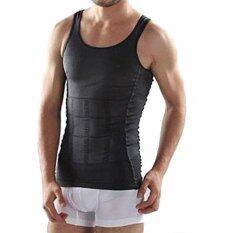 Allwin ร่างกายผอมท้องคนท้องกางเกงชั้นในรัดเอวเฉียบแหลม Shapewear เสื้อเชิ้ตสีดำ M Thailand