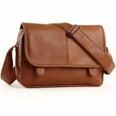 โปรโมชั่น Amarok Korean Style Messenger Bag กระเป๋าสะพายข้างสไตล์เกาหลี รุ่น 9266 สีน้ำตาล ไทย