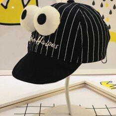 แอมป์เด็กหญิงเบสบอลหมวกหมวกปรับ (สีดำ) - สนามบินนานาชาติ.