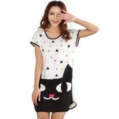 ขาย Amart Cute Cartoon Lingerie Short Sleeve Nightwear ราคาถูกที่สุด