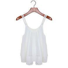 ราคา Amart เสื้อแขนกุดชีฟองเสื้อผู้หญิงรัดสายเสื้อเสื้อเซ็กซี่ Amart ออนไลน์