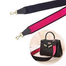 ราคา Ana Nylon Shoulder Strap Gold Hardware สายสะพายกระเป๋า ข้อต่อสีทอง Pink ใน Thailand
