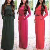 ราคา Andaman เดรส ผ้ายืดสี แบบสไตล์ยุโรป สีเขียว ใหม่