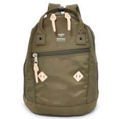 โปรโมชั่น Anello กระเป๋าเป้ Daypack Nylon Rucksack Khaki ใน ไทย