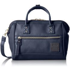 ความคิดเห็น Anello Mini Leather Boston 2 Way Navy