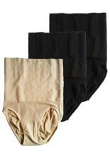 ซื้อ Angel Bra กางเกงสเตย์ กระชับสัดส่วนคุณแม่หลังคลอด เอว 27 34 นิ้ว เซต 3 ตัว สีดำ 2 สีเนื้อ 1 ถูก ใน กรุงเทพมหานคร