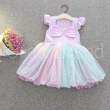 ขาย ชุดเจ้าหญิง ชุดราตรีเด็ก ชุดเด็ก เสื้อผ้าเด็กผู้หญิง รุ่น Angel Pastel Princess Dress ราคาถูกที่สุด