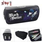 ราคา Anime Black Butler Pen Bag Purse Wallet Card Holder Pencil Case Cosmetic Bag Travel Bag Stationery Cosplay ใน จีน
