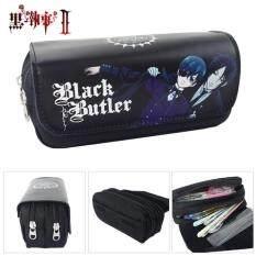 ราคา Anime Black Butler Pen Bag Purse Wallet Card Holder Pencil Case Cosmetic Bag Travel Bag Stationery Cosplay เป็นต้นฉบับ